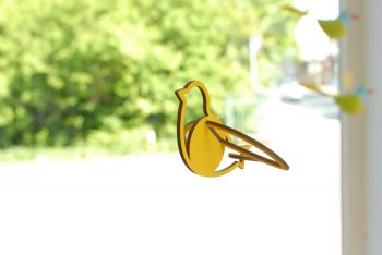 Vogel gelb