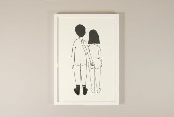 "Print ""Naked Couple"""