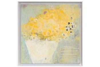 Gelbe Blüten Stillleben