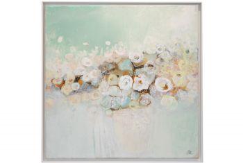 Weiße Blüten Stillleben