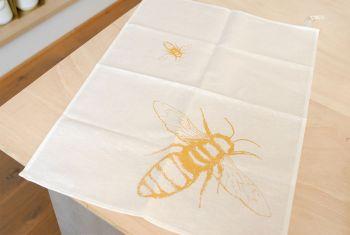 Geschirrtuch Bienen