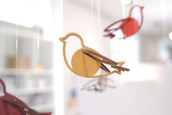 Vogel ocker