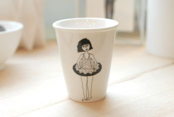 "Becher ""Donut Girl"""